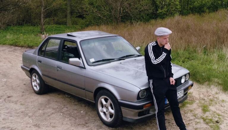 Video: Latvijas valstspiederīgā Oļega oriģinālā atzīšanās mīlestībā BMW markai