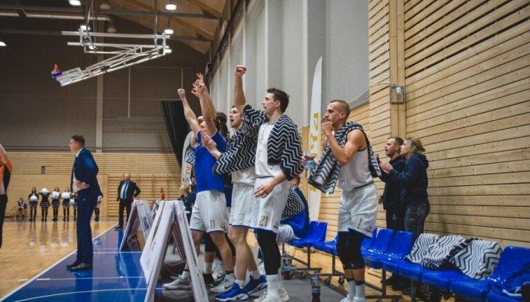 'Jūrmalas' basketbolisti salauž 'Jēkabpils' pretestību un svin uzvaru LBL mačā
