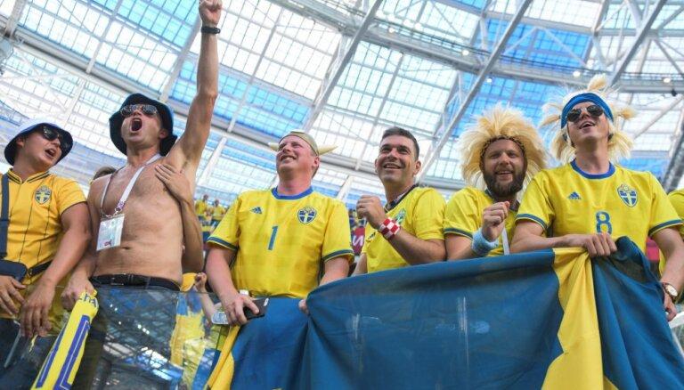 Шведские фанаты не смогли попасть на матч в Нижнем Новгороде