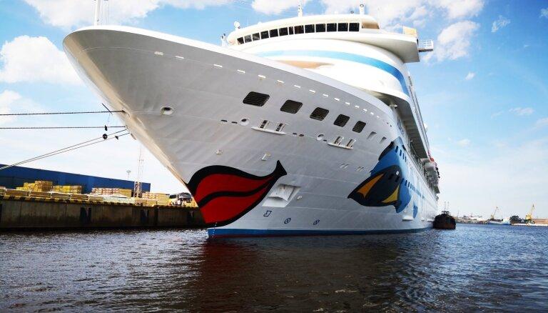 Rīgas ostā pirmo reizi vienlaikus piestāj četri kruīza kuģi