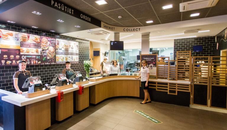 В Риге проведут реконструкцию в заведениях McDonald's