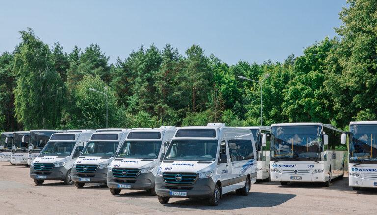 'BlueOrange' aizdevusi 'Nordekai' 7,2 miljonus eiro elektrisko mikroautobusu iegādei