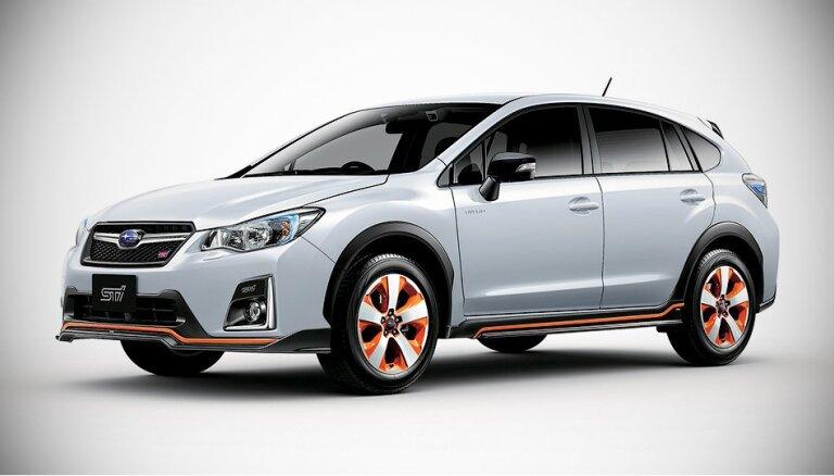'Subaru' parādījis pirmo STI hibrīdu