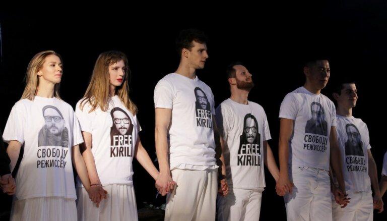 ФОТО. Ояру Рубенису стало плохо на спектакле Кирилла Серебренникова