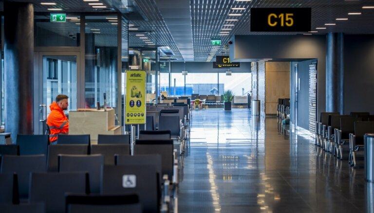 С ростом пассажиропотока Рижский аэропорт принимает назад на работу уволенных сотрудников
