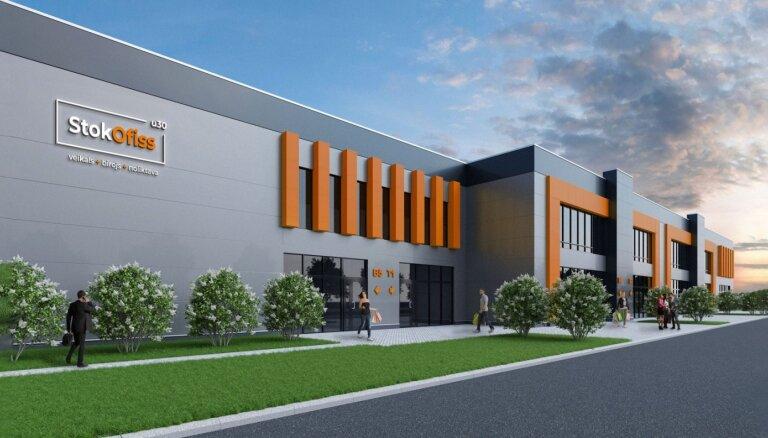 ФОТО: Hepsor инвестирует 13 млн евро в строительство нового бизнес-комплекса в Риге