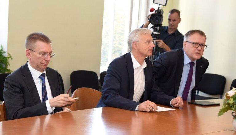 Topošā valdība savu darbu koordinēs koalīcijas sanāksmei līdzīgās sadarbības sanāksmēs