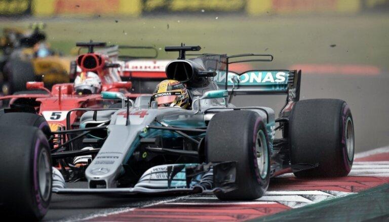 Hamiltons izcīna ceturto F-1 čempiona titulu karjerā