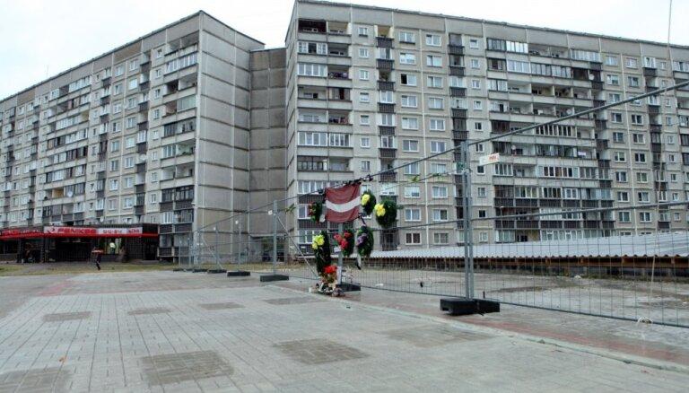 Zolitūdes traģēdijas vietā būs gan piemiņas vieta, gan dzīvojamais nams