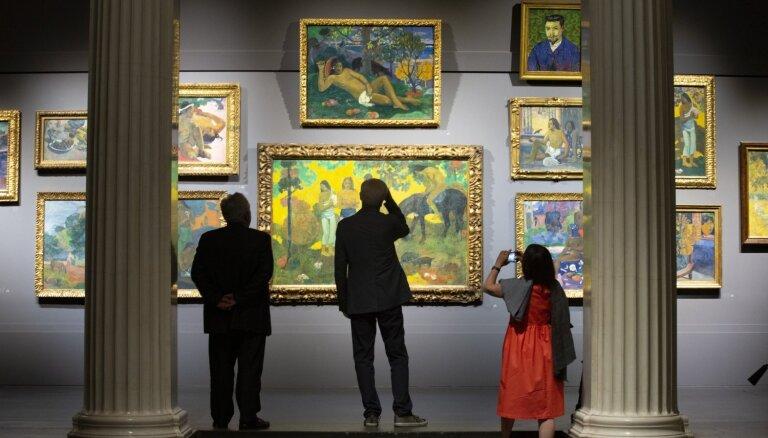 Foto: Puškina muzejā unikālā izstādē skatāmi modernisma mākslas šedevri