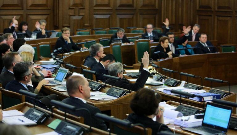 Компенсации нынешним депутатам, не избранным в 13-й Сейм, превысят 400 тысяч евро