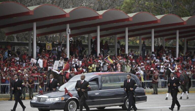Уго Чавеса похоронили в Музее революции