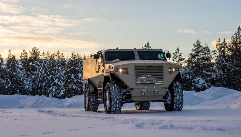 Латвия за 200 млн евро закупит для армии финские внедорожники