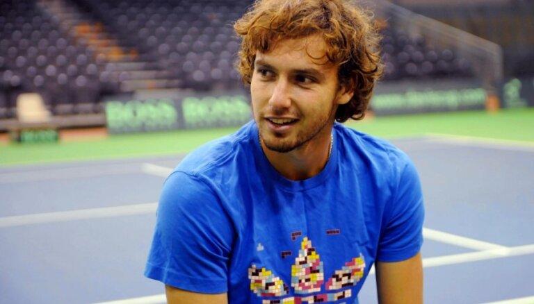 Gulbis piedalīsies Roterdamas ATP tenisa turnīrā ar spēcīgu dalībnieku sastāvu