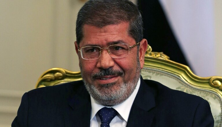 67 gadu vecumā miris Ēģiptes eksprezidents Mohameds Mursi