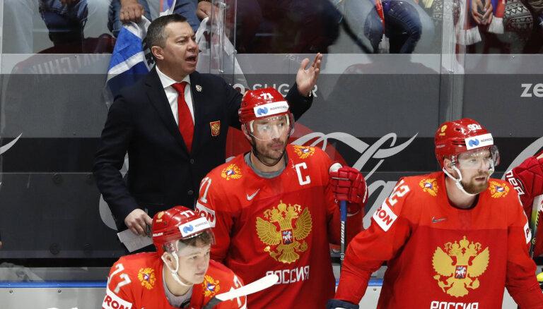 Российский тренер Воробьев: Латвия боролась за жизнь, жесткая была игра