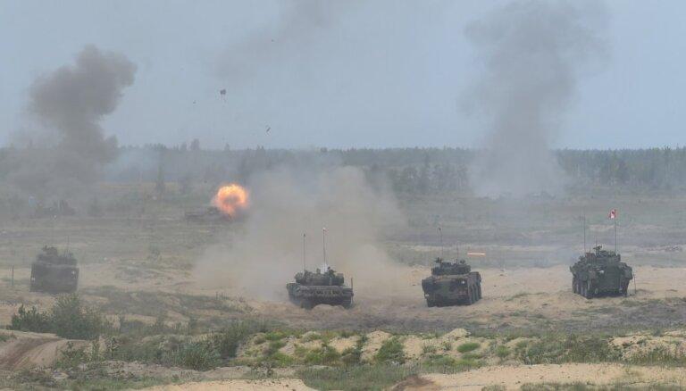 Foto: Ieskats līdz šim lielākajās militārajās mācībās 'Namejs 2018'