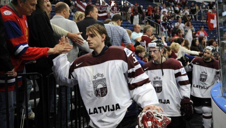 Latvija pasaules čempionātu noslēdz IIHF 'spēka ranga' 11.vietā