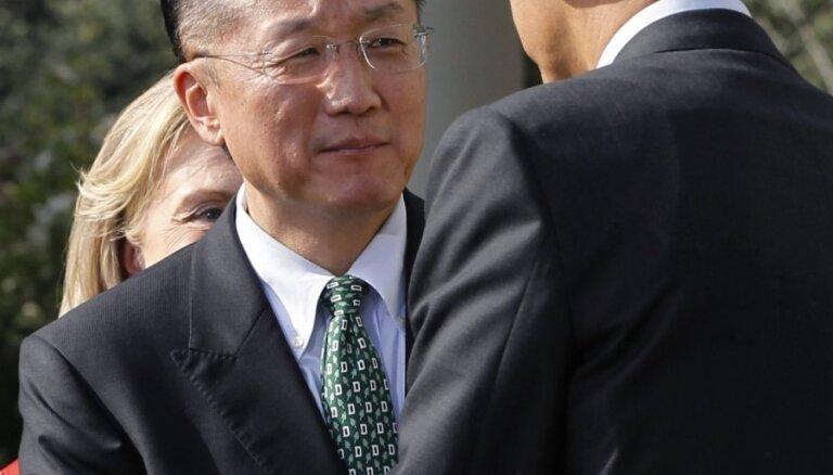 Pasaules Bankas prezidents paziņo par atkāpšanos