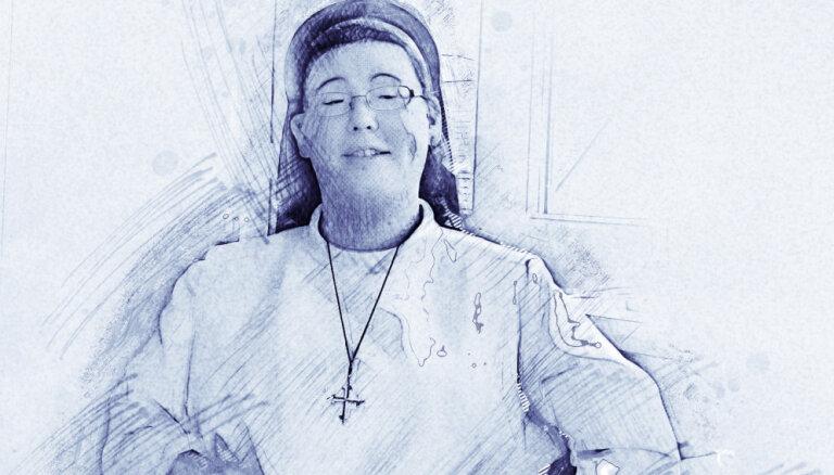 Māsa Hanna – vāciete, kas jau 19 gadu vecumā iestājās klosterī un strādā ar cietumniecēm
