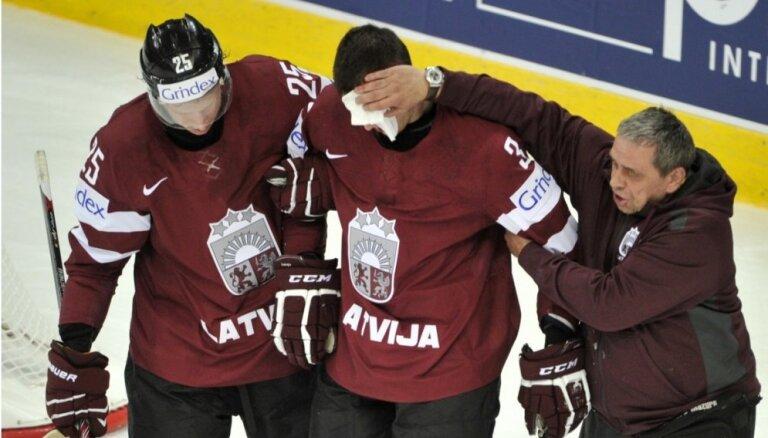 Latvijas hokeja izlasē pret Vāciju nespēlēs Jaks un Štāls; vārtos - Gudļevskis