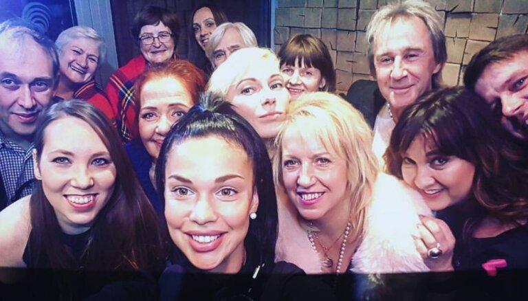 Beidzot tapis 'zvaigžņotākais' selfijs Latvijā