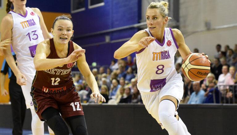 'TTT Rīga' FIBA Eirolīgas kvalifikāciju iesāk ar uzvaru pār Šteinbergas pārstāvēto 'Umana Reyer'