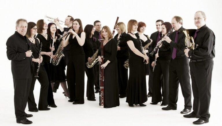Lielajā ģildē ar pasaules pirmatskaņojumu uzstāsies Birmingemas pūtēju orķestris