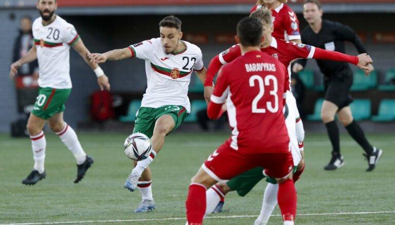 Lietuvas futbolisti uzvar Bulgāriju