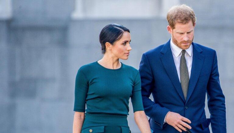 Princis Harijs un Megana zaudējuši mazuli