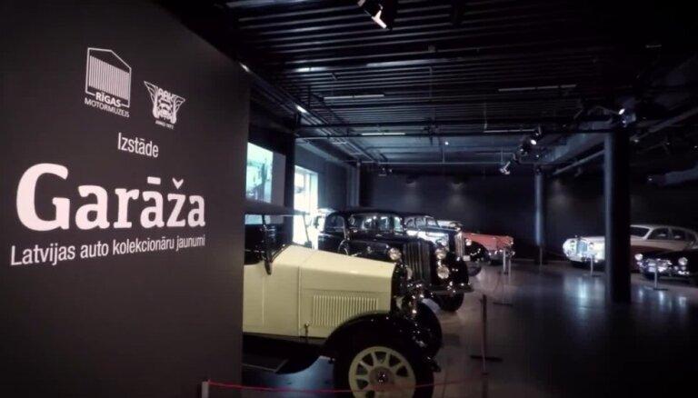 Rīgas Motormuzejā izstāde ar jaunākajiem restaurētajiem auto
