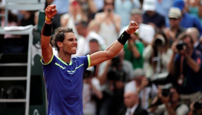 Nadals trešo reizi karjerā triumfē ASV atklātajā čempionātā