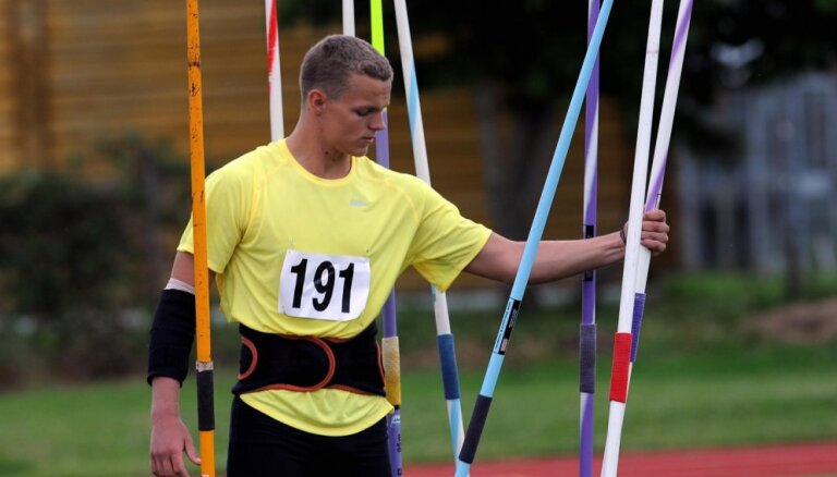 Šķēpmetējs Sirmais izcīna Latvijai pirmo medaļu 28. pasaules Universiādē