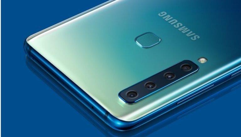 'Samsung' prezentējis pasaulē pirmo viedtālruni ar četrkāršo kameru