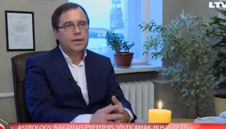 Астролог: следующим премьером Латвии, вероятно, будет мужчина