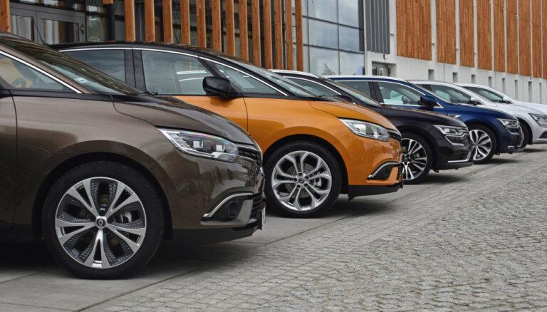 Pirmreizējā reģistrācija četros mēnešos Latvijā veikta par 7,8% vairāk vieglo auto