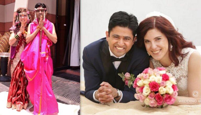 Пожениться в Индии и в Латвии: история любви Татьяны и Гаурава