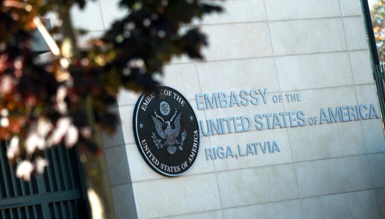 ASV vēstniecība Latvijā izplata drošības brīdinājumu pilsoņiem Latvijā