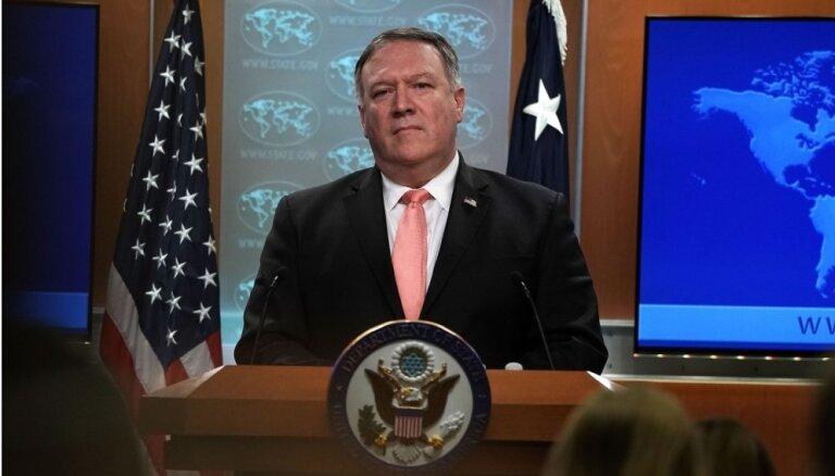 ASV aicina Ķīnu atbrīvot spiegošanā apsūdzētos kanādiešus