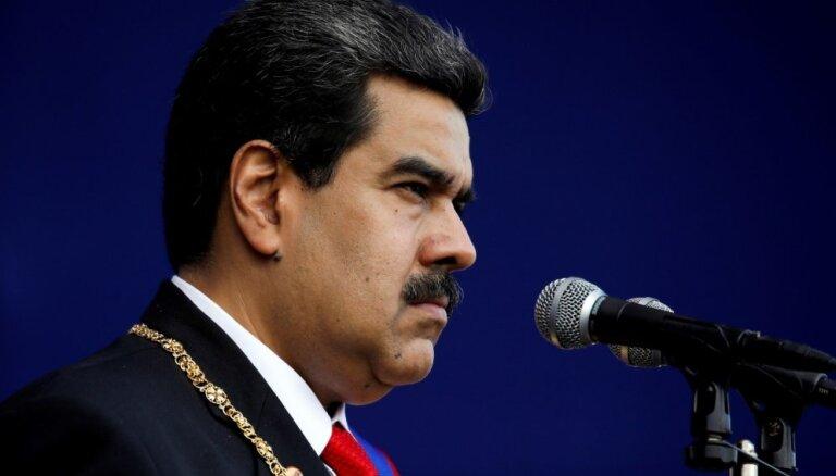 Ja Maduro pielietos agresiju, ASV sola apsvērt 'visus variantus'