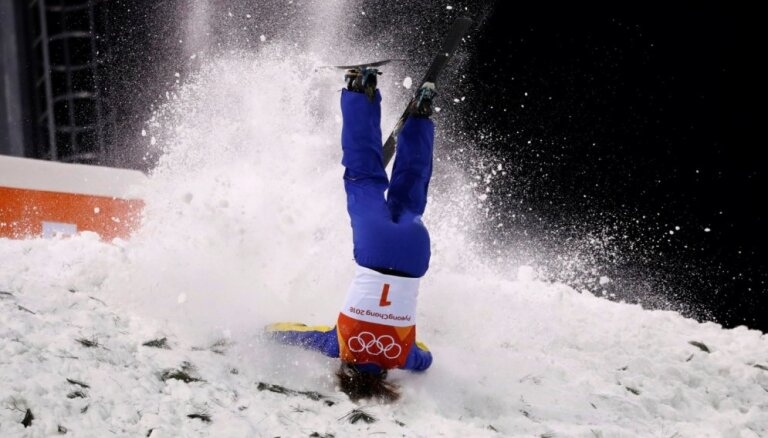 XXIII Ziemas olimpisko spēļu rezultāti frīstaila slēpošanas akrobātikā sievietēm (16.02.2018.)