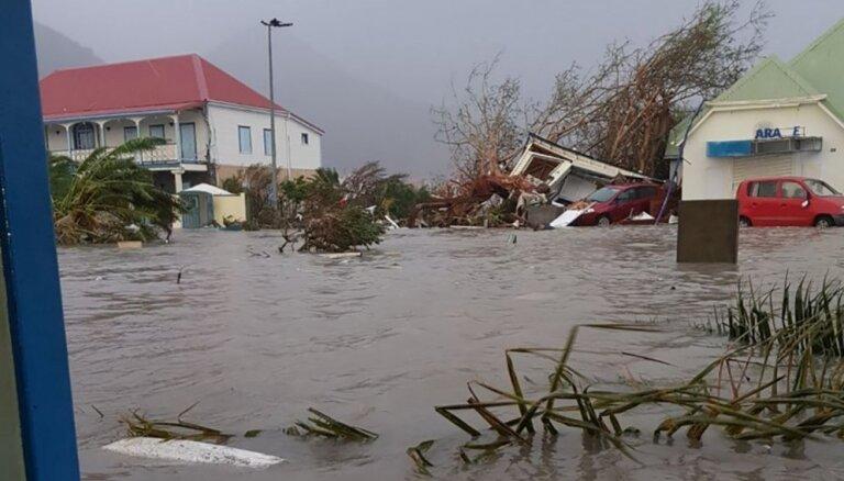 Eiropas valstis steidz palīdzēt viesuļvētras 'Irma' izpostītajām Karību jūras salām