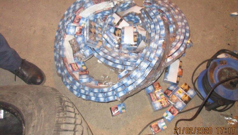 VID liedz ievest Latvijā ap 700 000 kontrabandas cigarešu