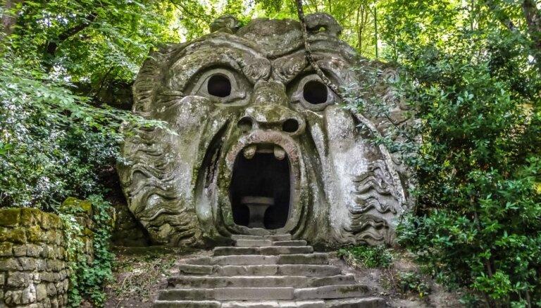 Savdabīgs un biedējošs – Briesmoņu parks Itālijā
