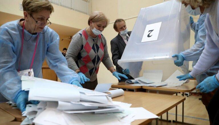 ASV un Lielbritānija peļ Krievijas vēlēšanu norisi