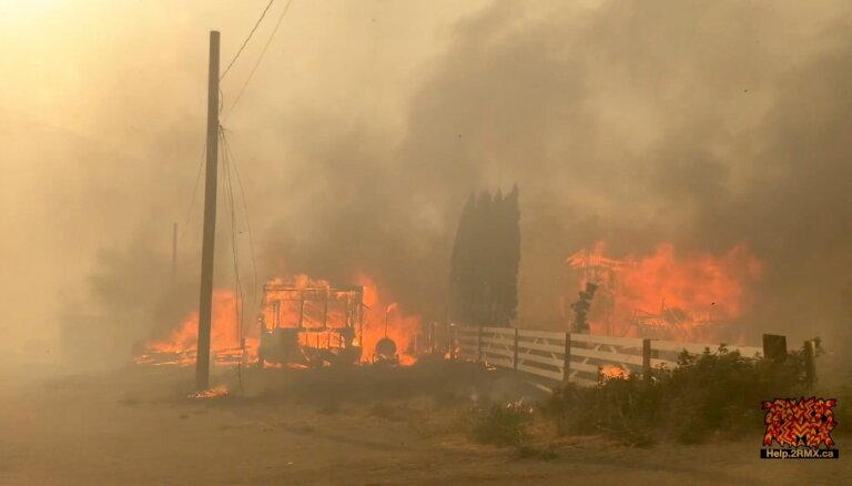 На Сахалине превышен уровень вредных веществ в воздухе из-за пожаров в Якутии