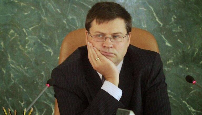 """Домбровскис не стал комментировать шансы """"Единства"""""""