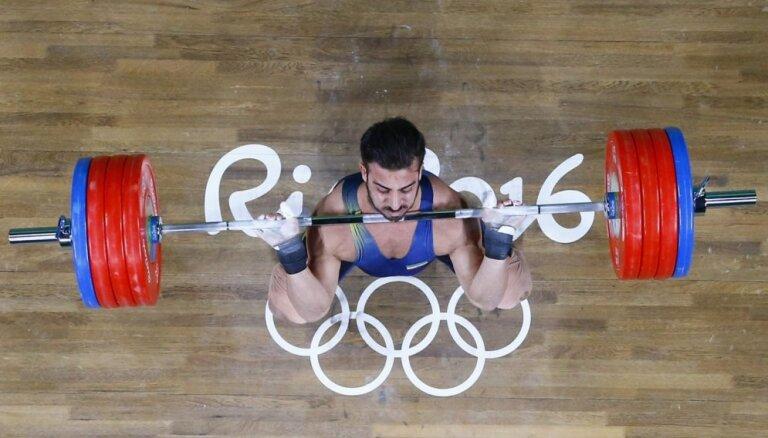 Riodežaneiro vasaras olimpisko spēļu rezultāti svarcelšanā (12.08.2016)