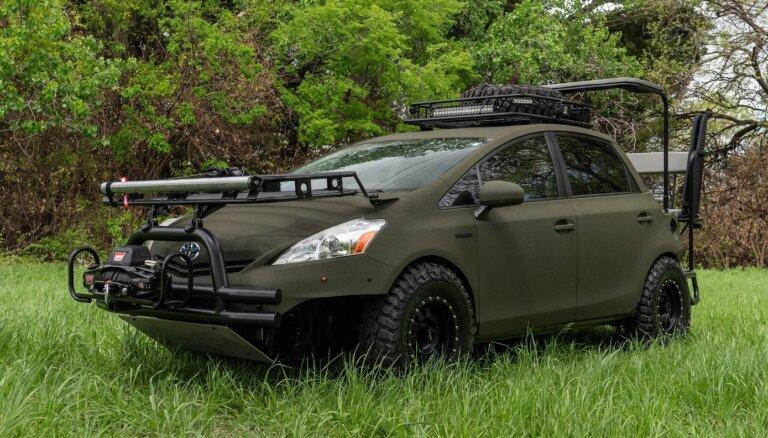 Amerikāņi uz 'Toyota Prius' hibrīda bāzes radījuši 'ideālo auto medībām'