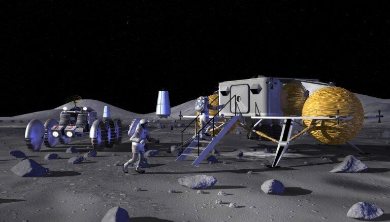 Nokia получила контракт NASA на создание мобильной связи на Луне